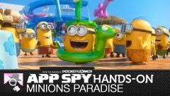 Hands-on with Minions Paradise, in which the creatures from Despicable Me get stranded on a desert island