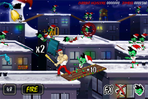 Screenshot from Zombie Assault: Xmas